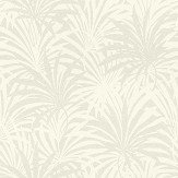 Albany Palm Leaf Opal White Wallpaper - Product code: 525915