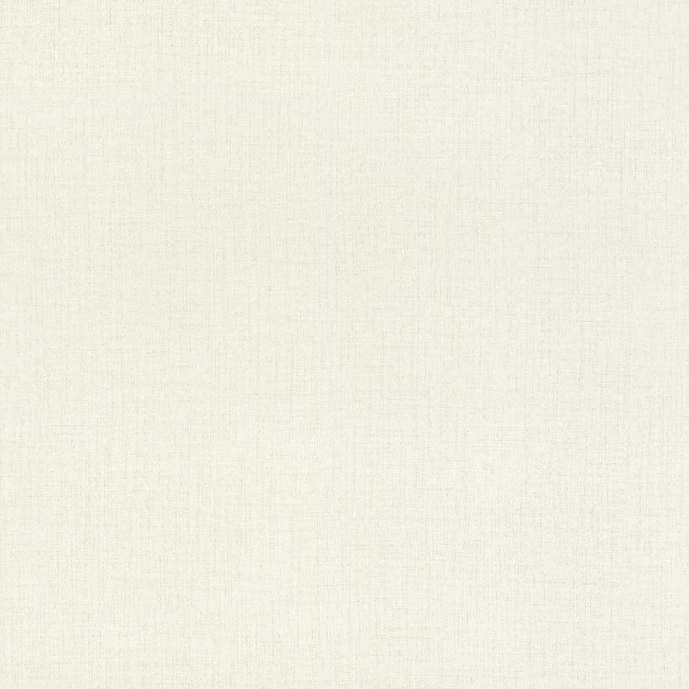 Albany Woven Plain White Wallpaper - Product code: 524611