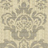 Albany Broken String Damask Gold / Black Wallpaper - Product code: 25057