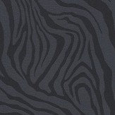Roberto Cavalli Tiger Print Black Wallpaper - Product code: 17070