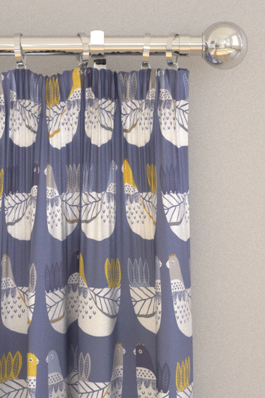 iliv Cluck Cluck Ochre Curtains - Product code: CRAU/CLUCKOCH