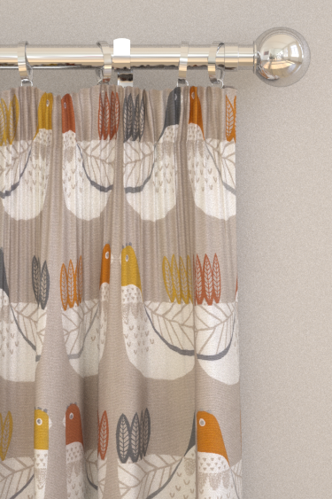iliv Cluck Cluck Tangerine Curtains - Product code: CRAU/CLUCKTAN