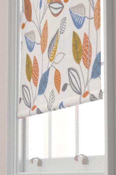 iliv Forest Leaves Tangerine Blind - Product code: CRAU/FLOWETAN