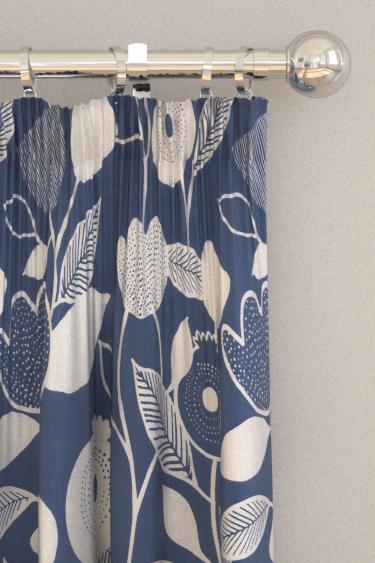 iliv Nordic Indigo Curtains - Product code: CRAU/NORDIIND