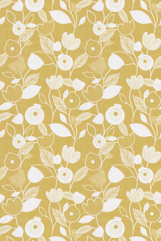Nordic Fabric - Ochre - by iliv