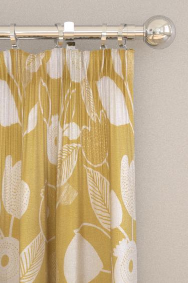 iliv Nordic Ochre Curtains - Product code: CRAU/NORDIOCH