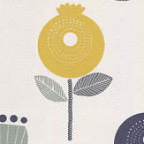 iliv Pomegranate Ochre Fabric - Product code: CRAU/POMEGOCH