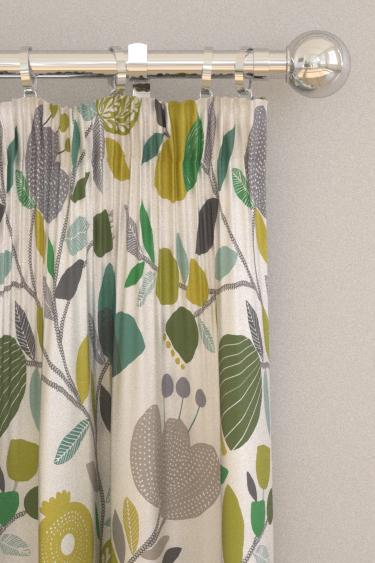iliv Pomegranate Trail Kiwi Curtains - Product code: CRAU/POMTRKIW