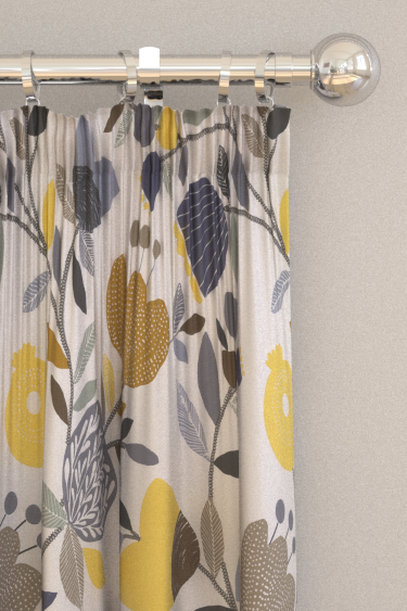 iliv Pomegranate Trail Ochre Curtains - Product code: CRAU/POMTROCH