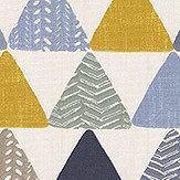 iliv Pyramids Ochre Fabric - Product code: CRAU/PYRAMOCH