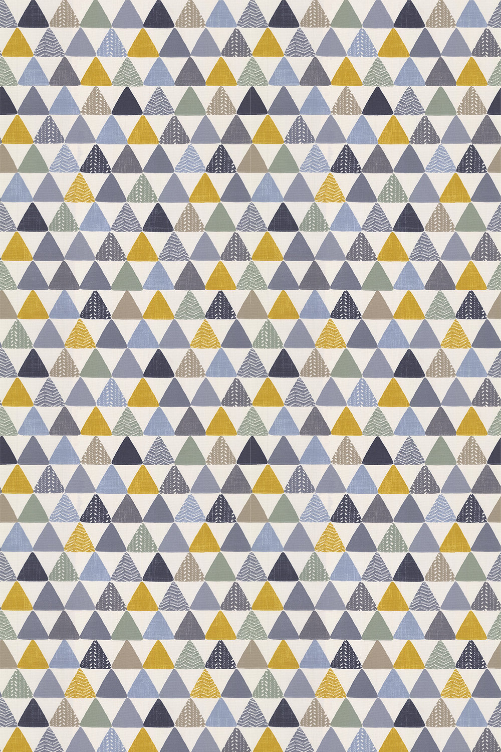 Pyramids Fabric - Ochre - by iliv