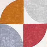 iliv Spiral Scarlet Fabric - Product code: CRAU/SPIRASCA
