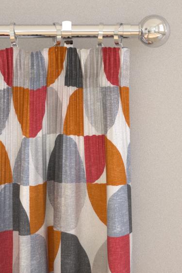 iliv Spiral Scarlet Curtains - Product code: CRAU/SPIRASCA
