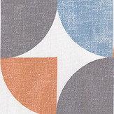 iliv Spiral Tangerine Fabric - Product code: CRAU/SPIRATAN