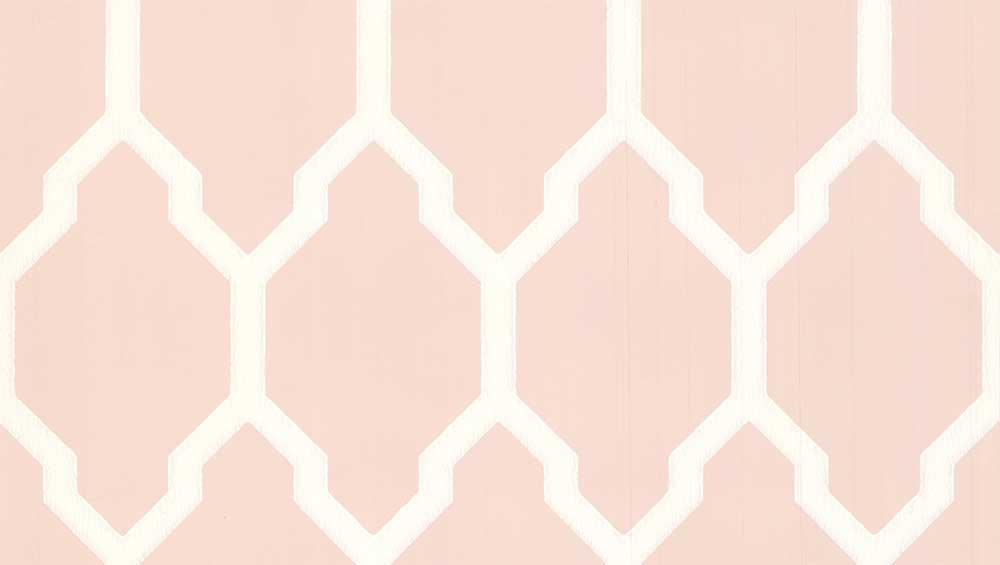 Farrow & Ball Tessella Pink Wallpaper - Product code: BP 3609