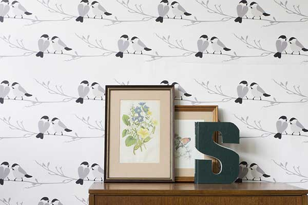 lorna syson willow tit grey wallpaper