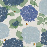 Lorna Syson Hydrangea Blue Wallpaper - Product code: HYW