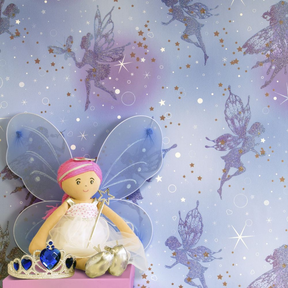 Fairy Dream Wallpaper - Moondust - by Albany