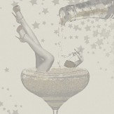 Albany Prosecco Time Natural & Gold Wallpaper - Product code: M1459