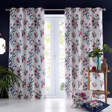 Oasis Luna Eyelet Curtains Ivory Ready Made Curtains