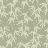 Engblad & Co Bamboo Garden Green Wallpaper