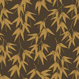 Engblad & Co Bamboo Garden Brown Wallpaper
