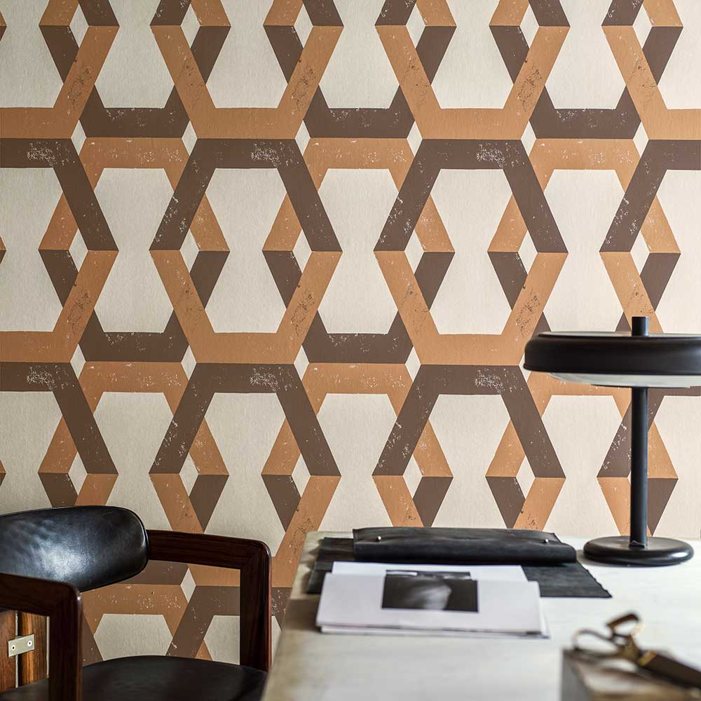Engblad & Co Tribe Orange Wallpaper - Product code: 6474