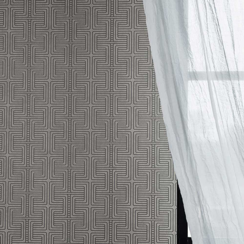 Engblad & Co Geo Tribe Grey Wallpaper - Product code: 6478
