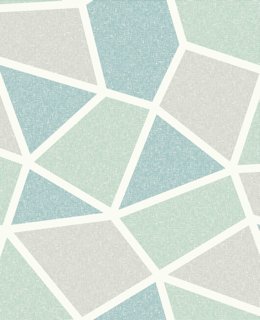 Albany Arendal Geo Mint Wallpaper - Product code: M1479