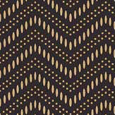 Engblad & Co Chevron Dots Brown Wallpaper - Product code: 6482