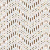 Engblad & Co Chevron Dots Cream Wallpaper - Product code: 6483