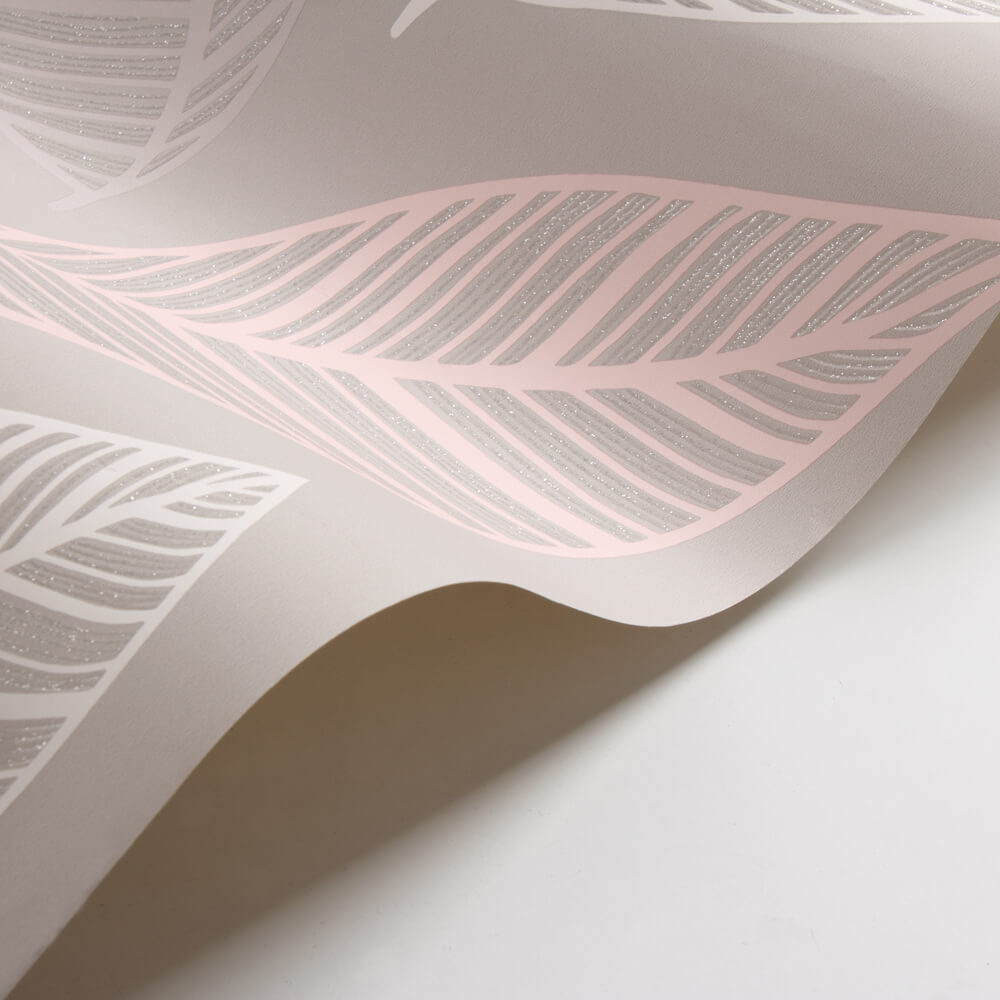 Emporium Elba Wallpaper - Blush and Taupe - by Albany