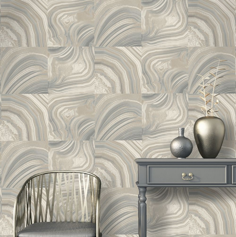 Albany Emporium Savoy Grey Wallpaper - Product code: M1465