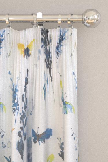 iliv Avila Cornflower Curtains - Product code: CIAA/AVILACOR