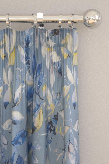 iliv Andora Cornflower Curtains - Product code: CRBL/ANDORCOR