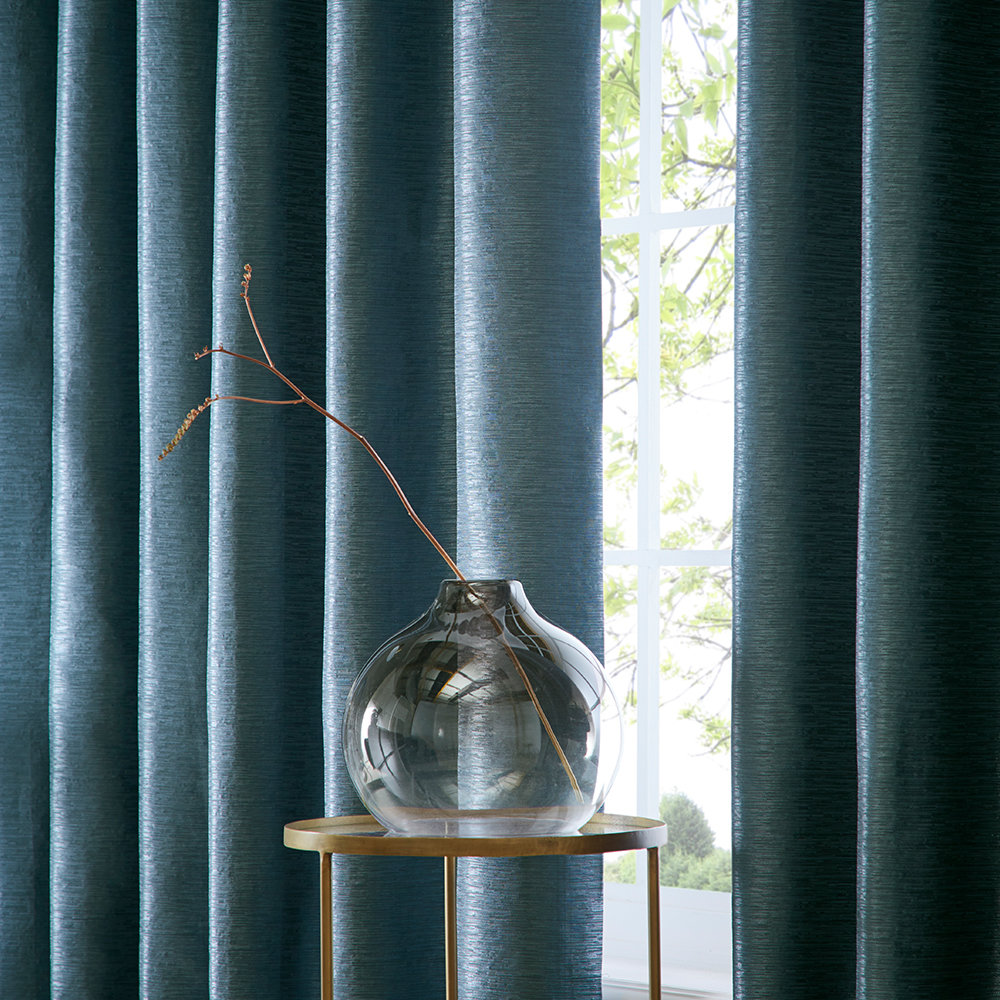 Studio G Catalonia Eyelet Curtains Ocean Ready Made Curtains - Product code: DA40452265