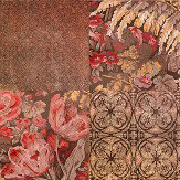 Coca Cola Majolica Phoenix Rust Wallpaper - Product code: 41201