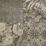 Coca Cola Majolica Phoenix Charcoal Wallpaper - Product code: 41229