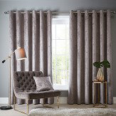 Studio G Navarra Eyelet Curtains Mink Ready Made Curtains - Product code: DA40452445