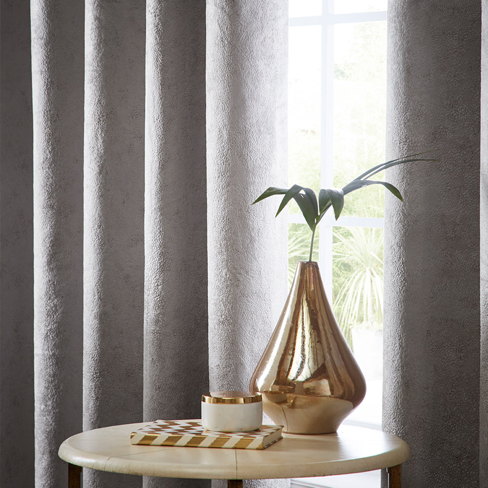 Studio G Navarra Eyelet Curtains Mink Ready Made Curtains - Product code: DA40452445