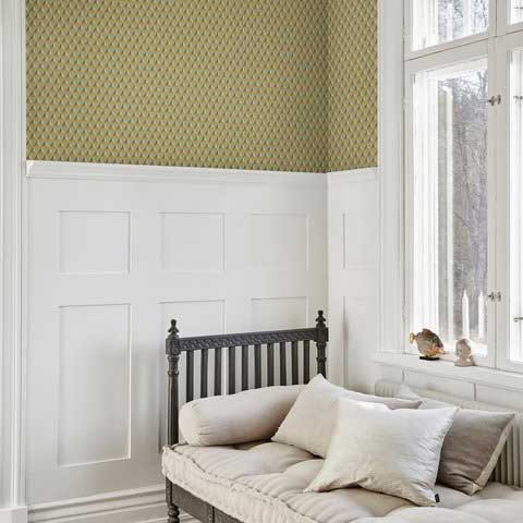 Sandberg Chloe Sage Green Wallpaper - Product code: 229-38