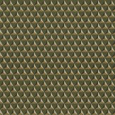 Sandberg Chloe Khaki Green Wallpaper
