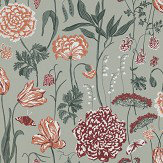 Sandberg Aurelie Sage Green Wallpaper - Product code: 434-58