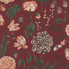 Sandberg Aurelie Red Wallpaper - Product code: 434-84