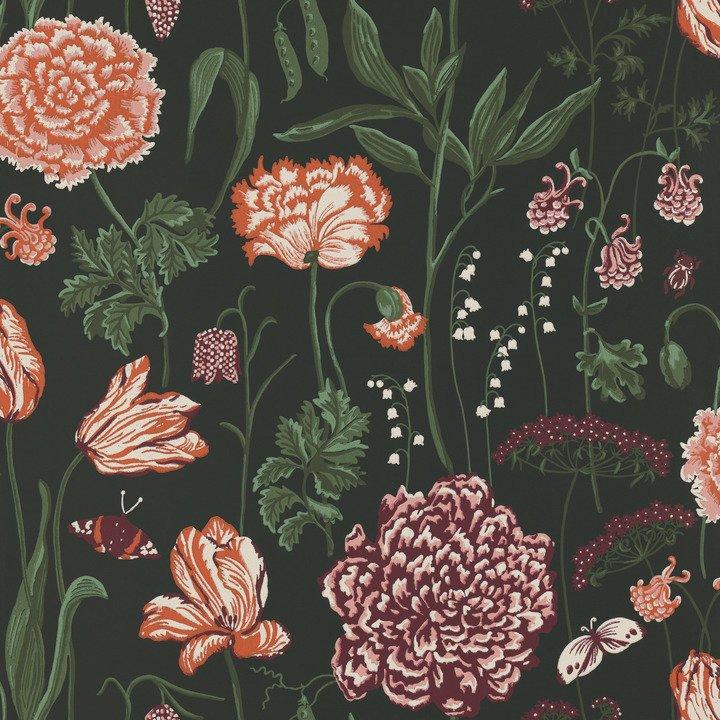 Sandberg Aurelie Black Wallpaper - Product code: 434-98