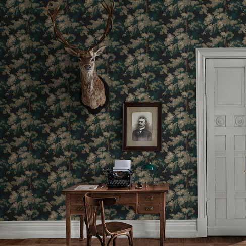 Sandberg Raphael Green Wallpaper - Product code: 444-81