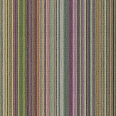 Coca Cola Multicolour Thin Stripes Damson Wallpaper - Product code: 41244