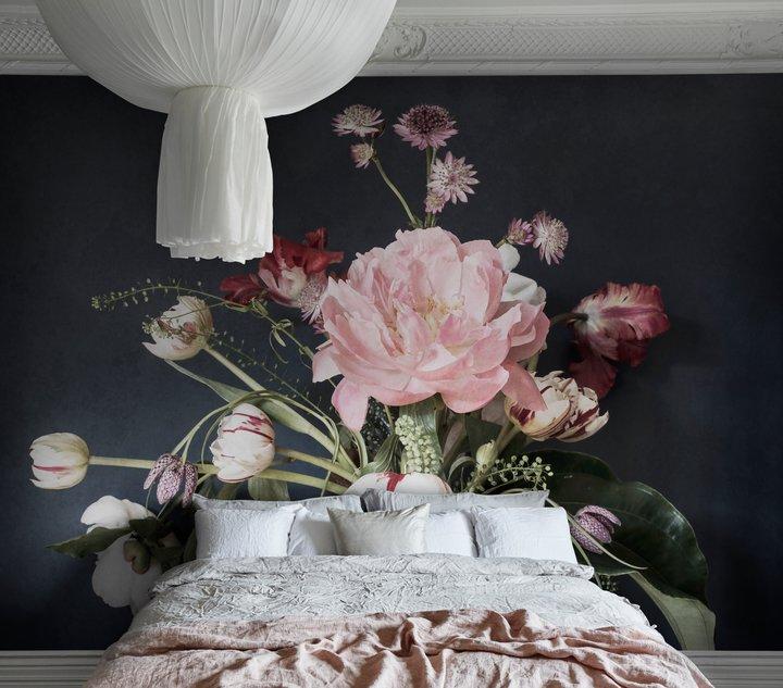 Sandberg Julie Pink / Black Mural - Product code: 641-07