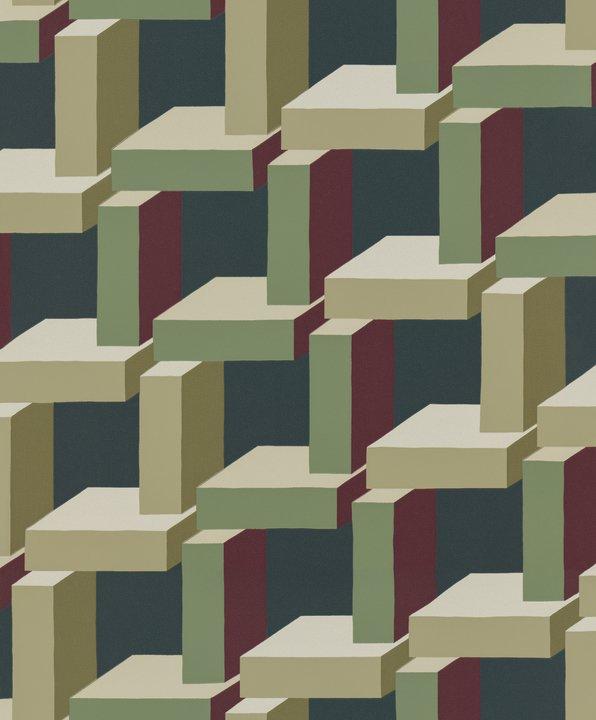 Christian Wallpaper - Khaki - by Sandberg