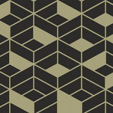 Hooked on Walls Flake Black / Gold Wallpaper - Product code: 29025